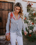 Modern Prep Embroidered Blouse - FINAL SALE