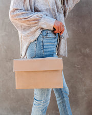 Molly Crossbody Clutch - Beige view 2