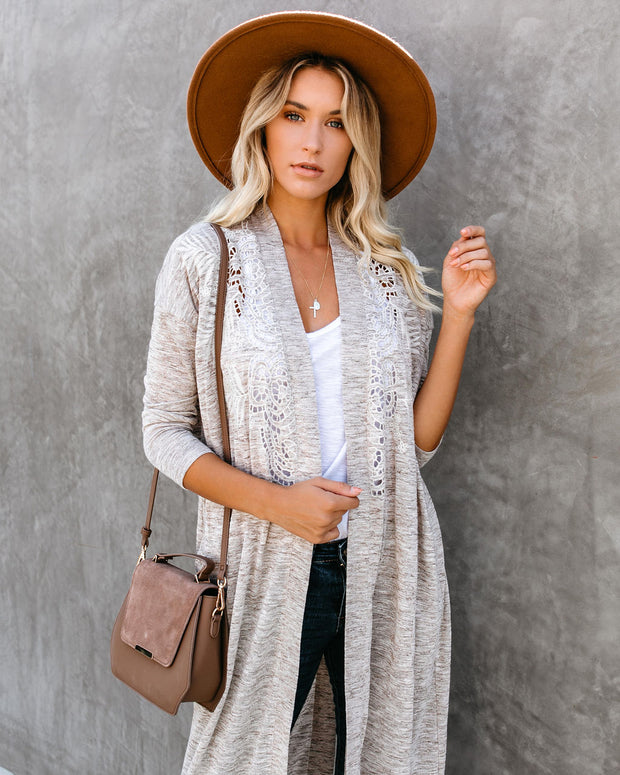 Moonrise Pocketed Duster Cardigan - FINAL SALE