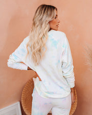 Namaste In Bed Cotton Tie Dye Pullover