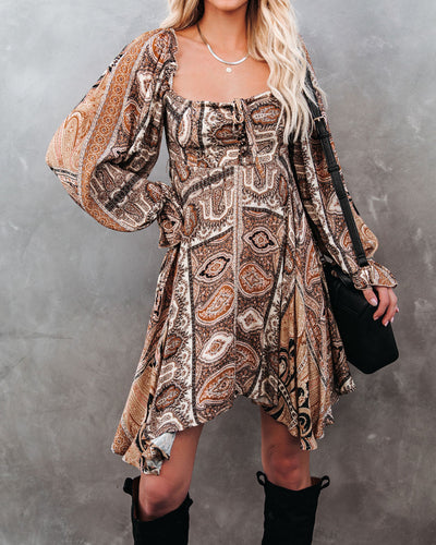 Nancy Shimmer Patchwork Tunic