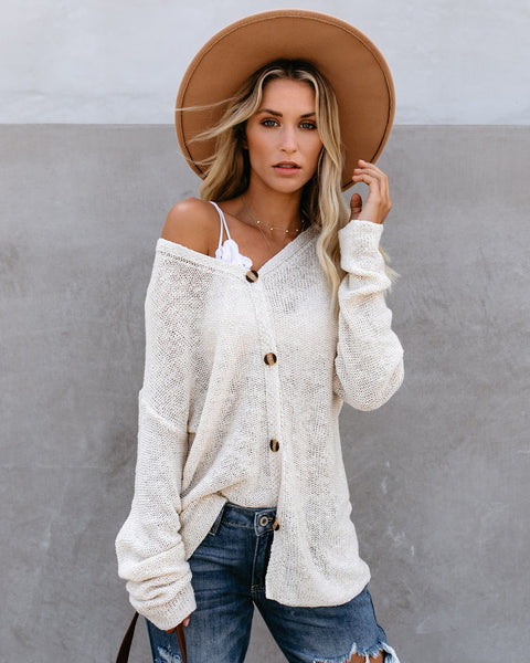 Neptune Beach Knit Cardigan