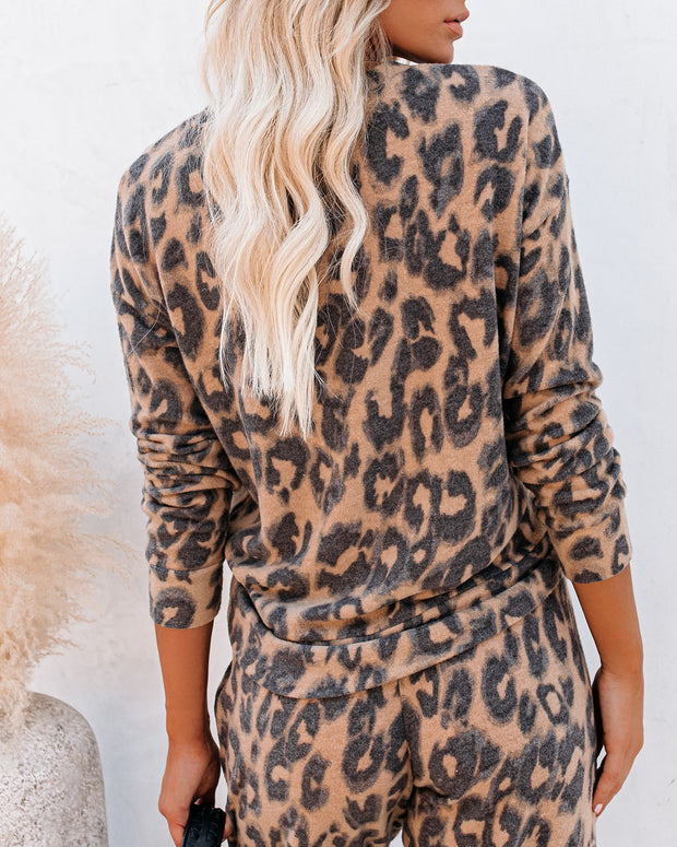 Nikita Leopard Knit Top