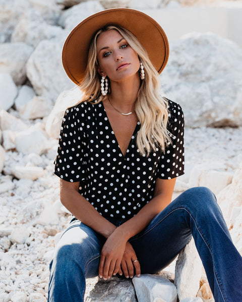 Noble Polka Dot Bodysuit