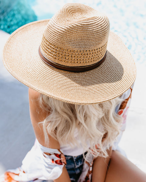 PREORDER - North Shore Panama Hat - Natural