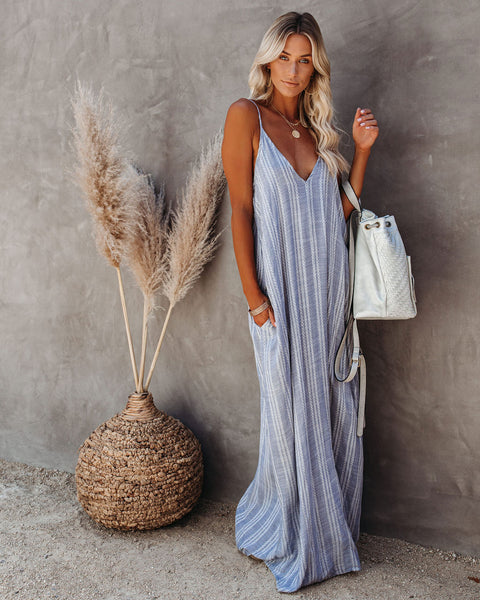 North Shore Pocketed Maxi Dress