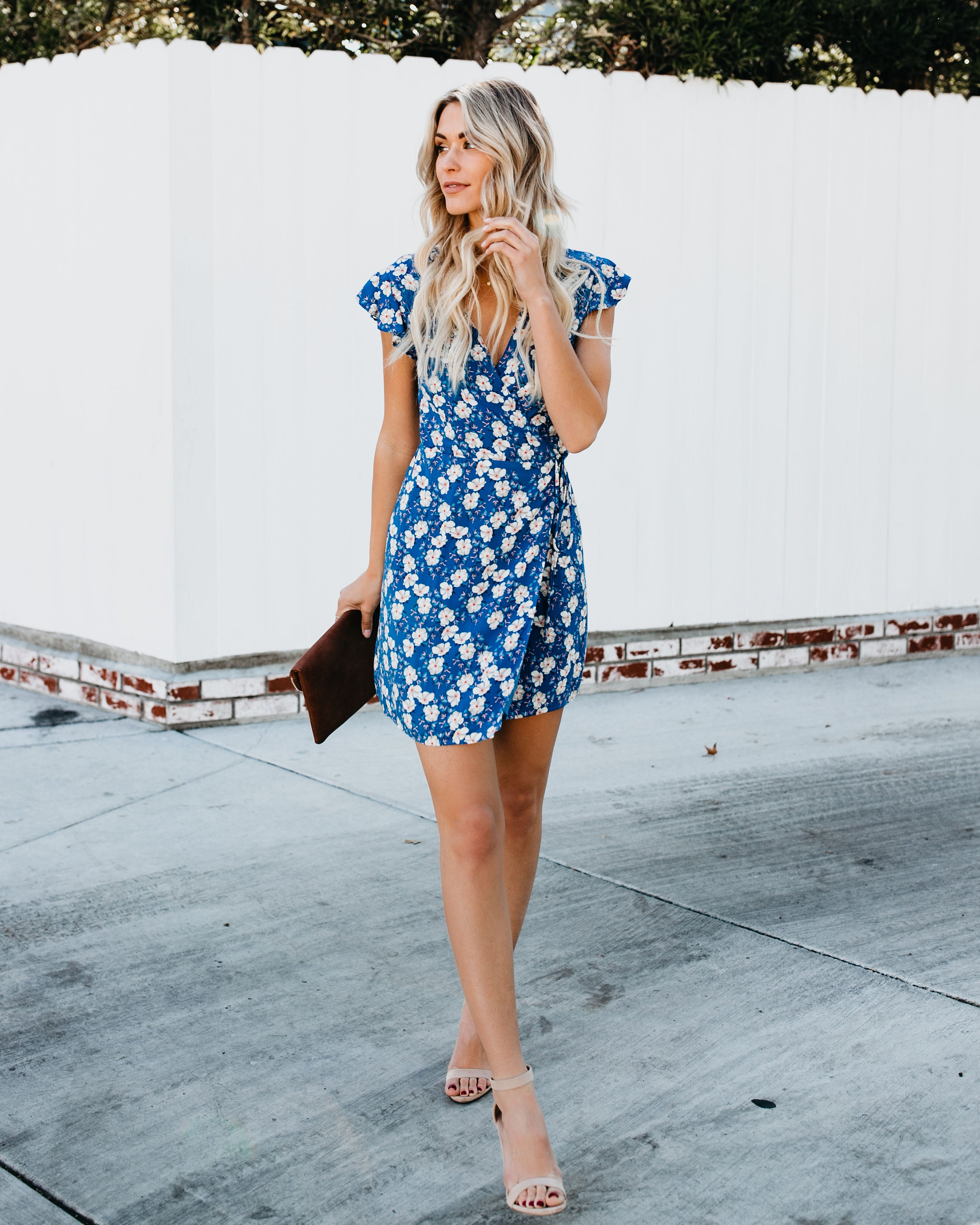 fed8c2f0ed Oahu Floral Wrap Dress – VICI