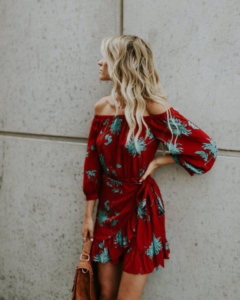 Soul Seek Off The Shoulder Dress