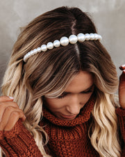 Olive + Piper - Madison Pearl Headband