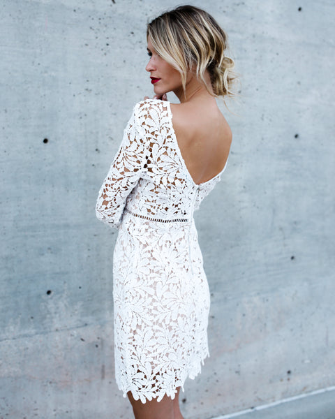 In Your Arms Lace Dress