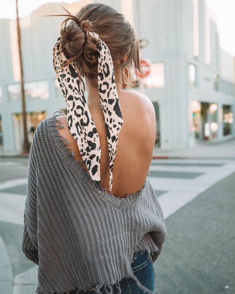 Passionate Leopard Scarf