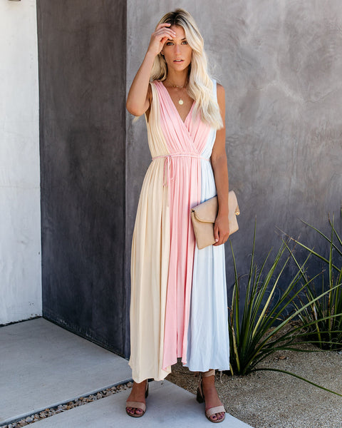 Perfect Composition Colorblock Dress