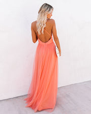 Petal Dust Maxi Dress - Apricot view 8