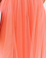 Petal Dust Maxi Dress - Apricot view 4