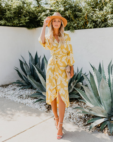 Piña Kimono Dress - FINAL SALE