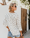 Pineapple Paradise Cotton Top