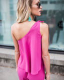 Chantelle One Shoulder Jumpsuit