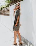 Pocket Full Of Sunshine Pocketed Dress - Charcoal