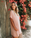 Pocket Full Of Sunshine Pocketed Dress - Mauve