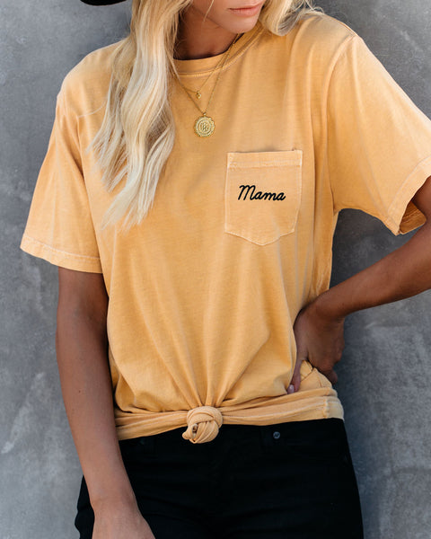 PREORDER - Pocket Mama Cotton Tee