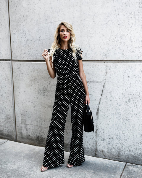 Spot On Polka Dot Jumpsuit