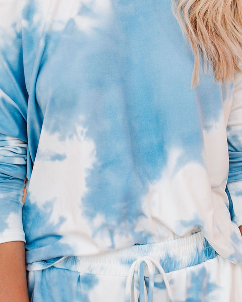 PREORDER - Pop The Sunroof Tie Dye Knit Top