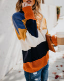 Pretty Little Thing Striped Tie Back Sweater