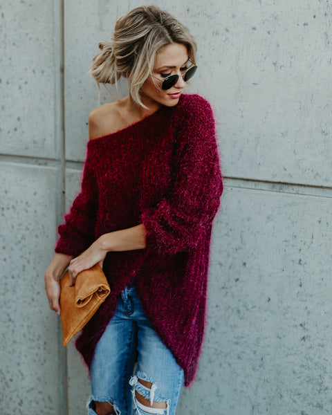 Napa Valley Sweater - Wine