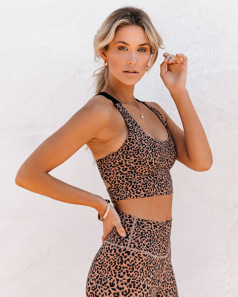 PREORDER - Quicksand Cheetah Sports Bra