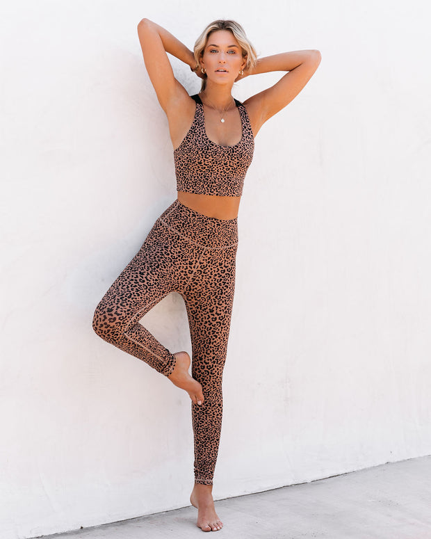 Quicksand Cheetah Sports Bra