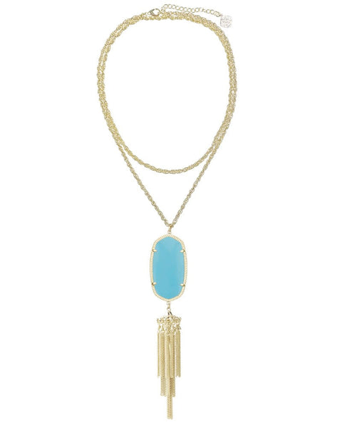 KENDRA SCOTT - Rayne Necklace in Turquoise