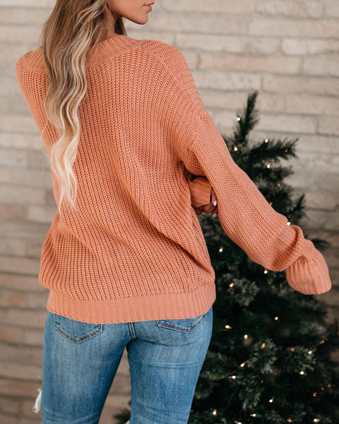 Rest And Recoup V-Neck Sweater