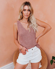 Reverie Knit Tank - Clay