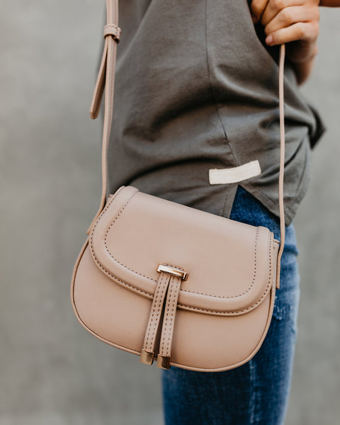 River Crossbody Bag - Natural