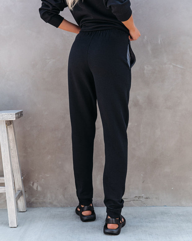 Rock N' Roll Cotton Blend Pocketed Joggers view 2