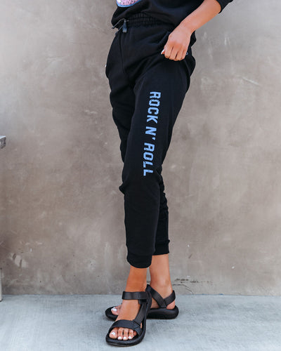 Rock N' Roll Cotton Blend Pocketed Joggers