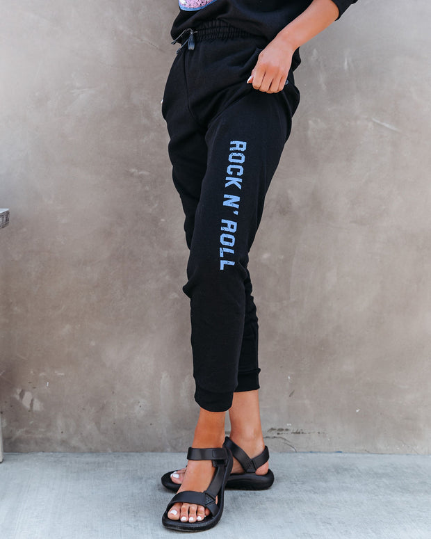 Rock N' Roll Cotton Blend Pocketed Joggers view 3