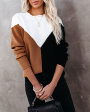 Rockridge Cotton Blend Colorblock Sweater