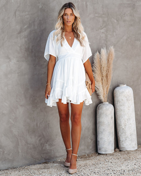 Romantic Getaway Tiered Dress