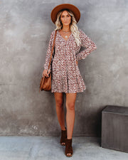 Rose Tinted Pocketed Babydoll Dress