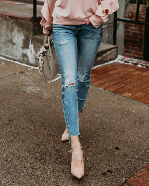 Jessie Distressed Denim