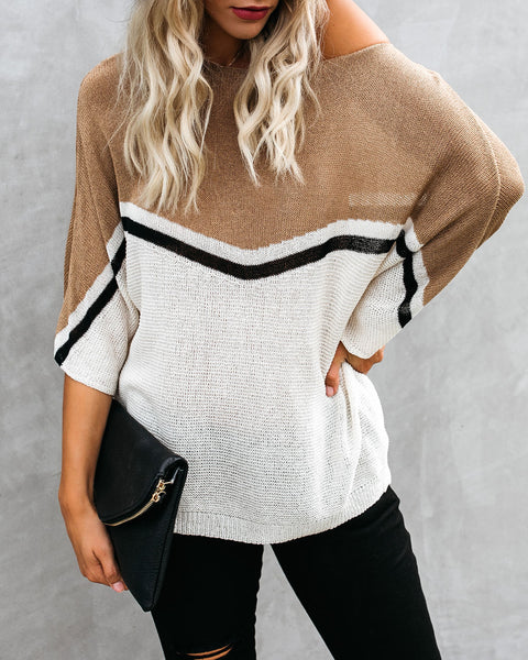 PREORDER - Second Nature Light Knit Sweater
