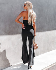 Seek To Be Chic Ruffle High Low Hem Jumpsuit view 2