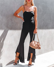 Seek To Be Chic Ruffle High Low Hem Jumpsuit view 7