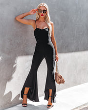 Seek To Be Chic Ruffle High Low Hem Jumpsuit view 1