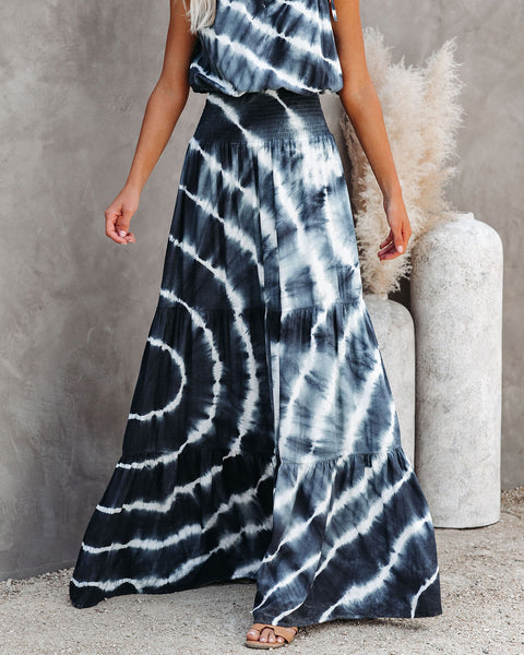 cd62dfce700 Seems Like A Dream Tie Dye Smocked Maxi Dress