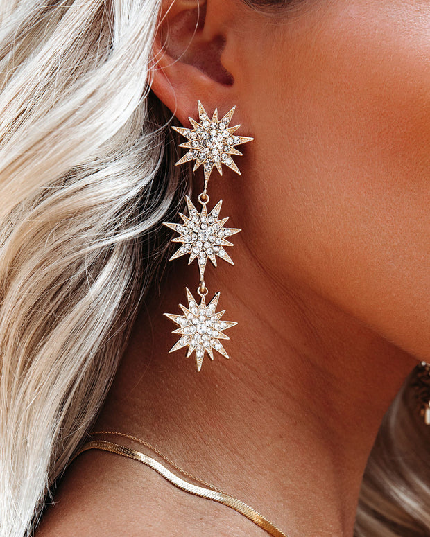 Shashi - Fireworks Statement Earrings