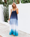 Shore Thing Ombre Maxi Dress