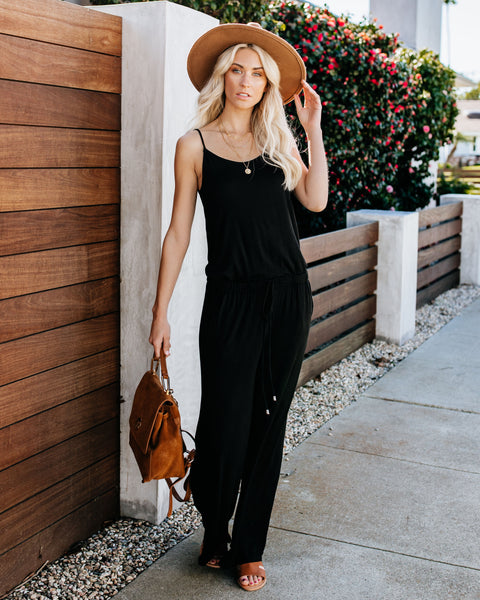 Solo Pocketed Jumpsuit