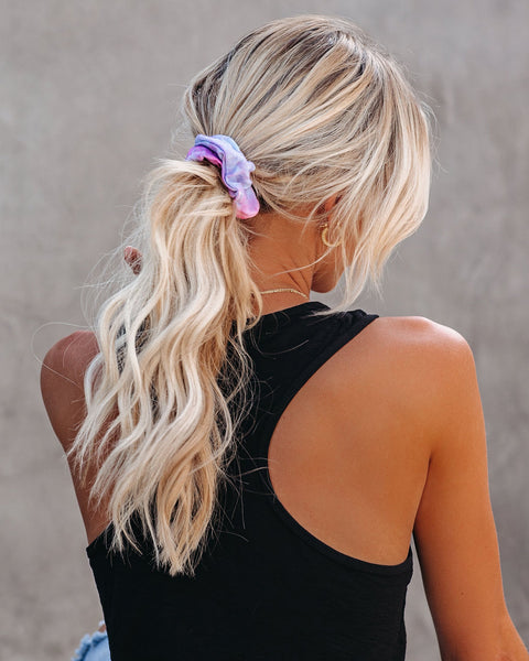 Sol Tie Dye Hair Scrunchie